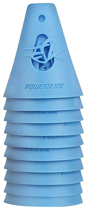 Powerslide Conos Freeskating Azules Pack x10