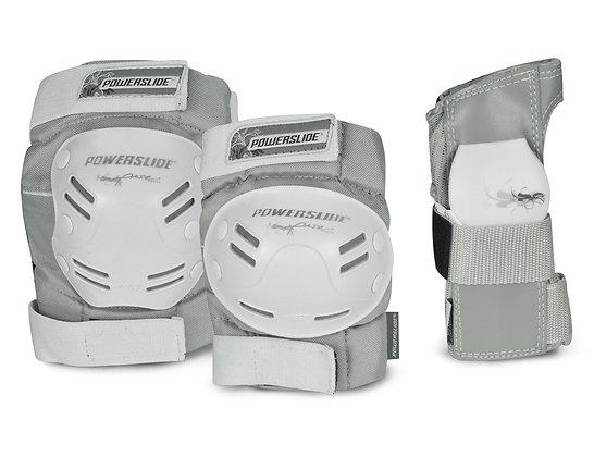 Powerslide Kit de Protecciones Standard Gris