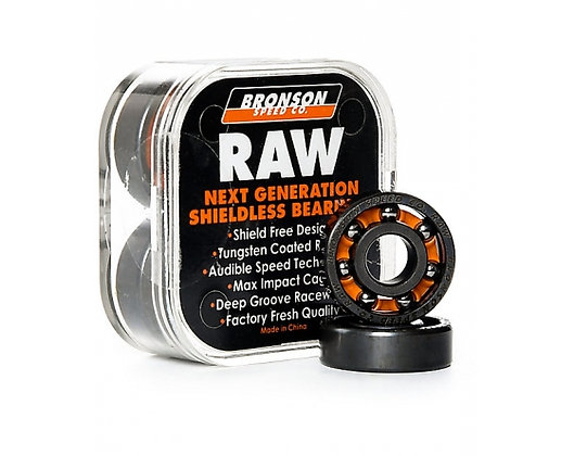 Bronson Speed Co. Rodamientos RAW (x8)
