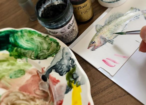 Beautifully Creative Painted Cakes That You'll Love