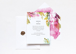 Inspired by…Awesome Wedding Stationery