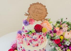 3 Creative Friends, 3 Weddings, 3 Wedding Cakes - Sophie