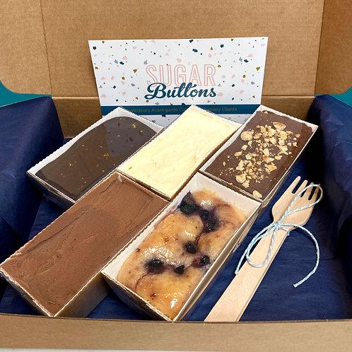 Vegan Wedding Cake Sample Box