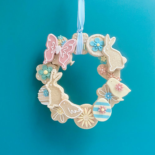 Bake At Home Cookie Wreath & Decorations Kit