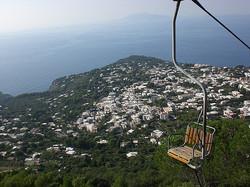 Monte Solaro's Chairlift