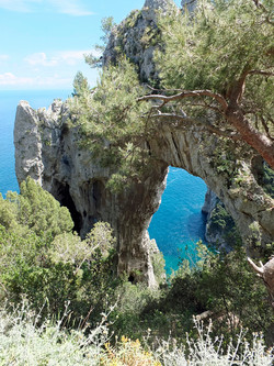 Natural Arch and Pizzolungo
