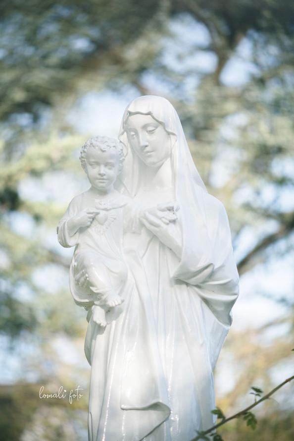 Vierge à l'enfant, Eglise du Sacré-Coeur, Bourges