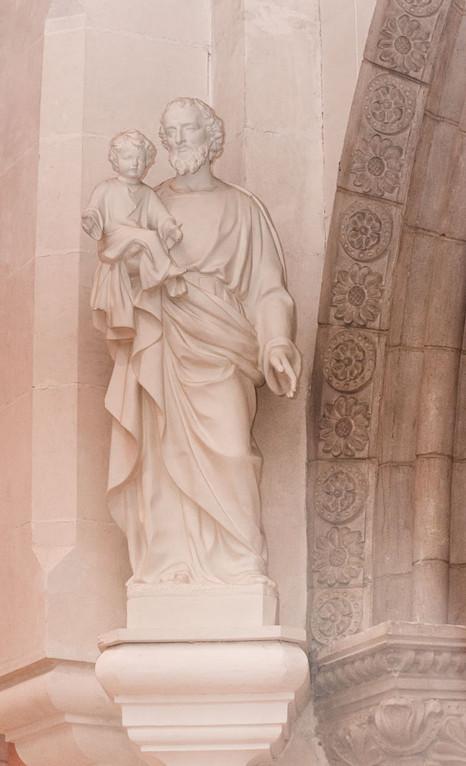 Statue de Saint Joseph, Eglise du Sacré-Coeur, Bourges