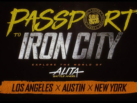 Passport to Iron City: The Alita Experiece