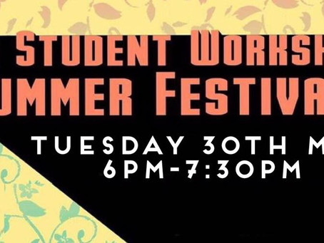 Invite - Student Workshop Summer Fest