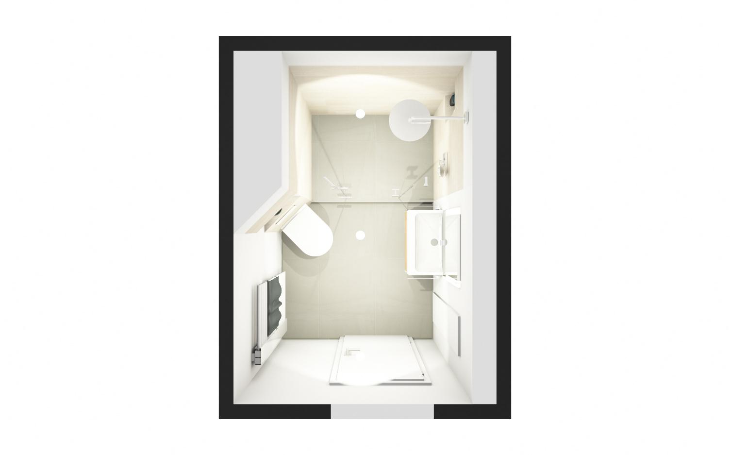 duschbad auf kleinstem raum wohndesign. Black Bedroom Furniture Sets. Home Design Ideas
