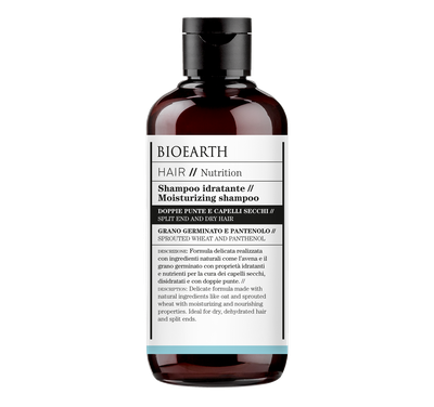 shampoo idratate di bioearth