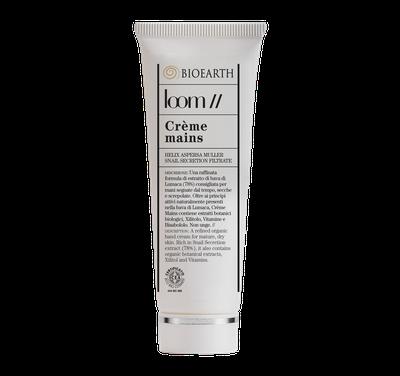 Crema mani Loom, una ricca crema dalla texture levigata che nutrirà in profondità la pelle delle vostre mni