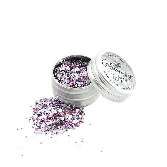 Eco Stardust - Glitter MIX Raspberry Ripple