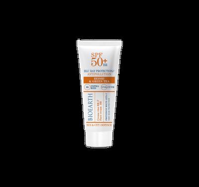 Crema protettiva ad ampio spettro con funzione antiage e antimacchia, mantiene la pelle idratata e previene le rughe