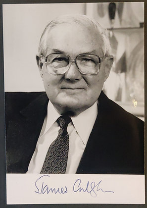 James Callaghan Signed Photo - British Prime Minister 1976 - 1979