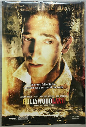 Hollywoodland (2006) Original US One Sheet Poster - Adrien Brody