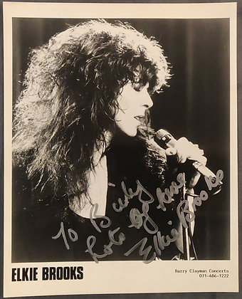 Elkie Brooks Signed Promo Photo from Edinburgh Playhouse 1991