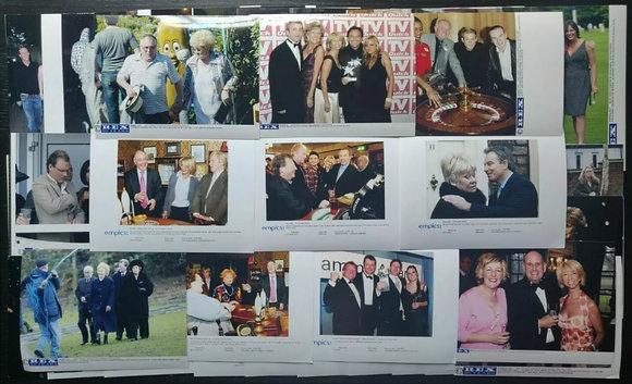 Coronation Street Press Photos (x50) including Tony Blair PM with Cast + More