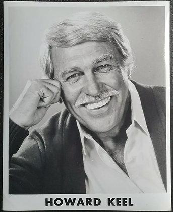 Howard Keel B&W Promo Photo - Actor & Singer