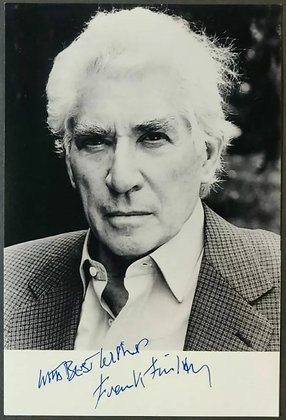 Frank Finlay Signed Photo