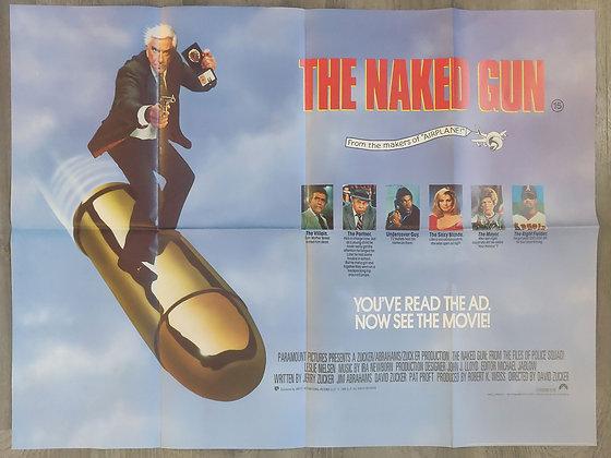 The Naked Gun (1988) Cinema Quad Poster