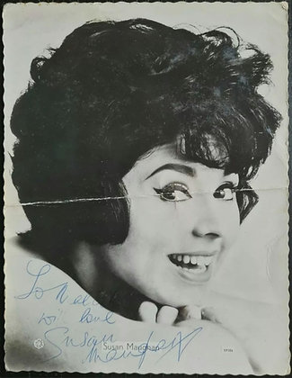 Susan Maughan Signed Promo Photo/Print - Star Pics SP586