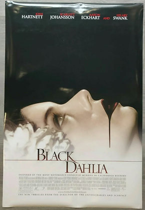 The Black Dahlia (2006) Original US One Sheet Poster - Scarlett Johansson