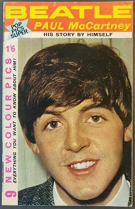 Beatle Paul McCartney: His Story By Himself - Pop Pics Super Book - 1964