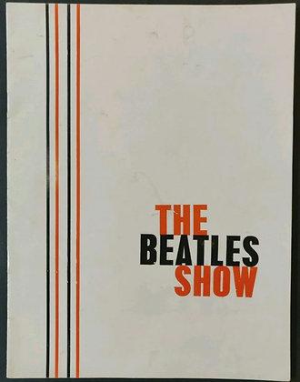 The Beatles Show 1963 UK Tour Programme - White Sleeve