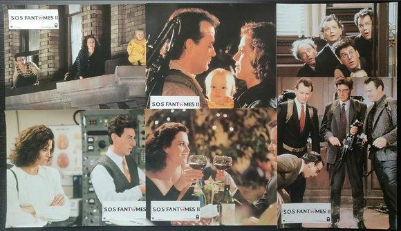 Ghostbusters II (1989) French Lobby Cards (X6) - Bill Murray, Dan Aykroyd
