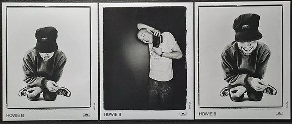 Howie B Promo Photos (x3) - Polydor Records - 1996/97