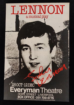 Lennon: A Musical Play Poster