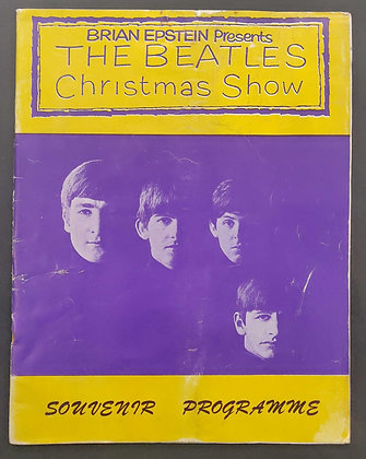 The Beatles Christmas Show Programme