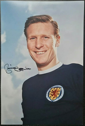 Billy McNeil Signed Photo with COA - Scotland Captain