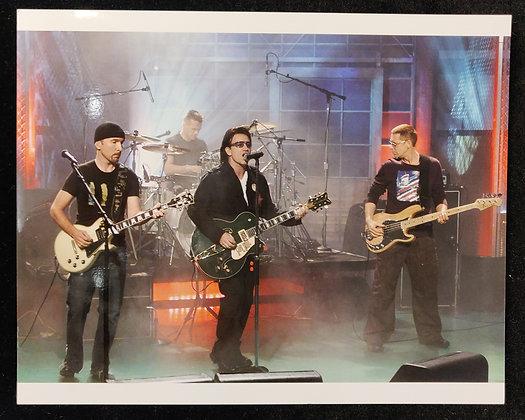 U2 Photo Print