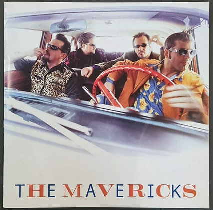 The Mavericks Signed Tour Programme from 1999