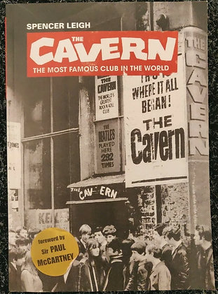 Hunter Davies & Spencer Leigh Signed 'The Cavern...' Paperback Book