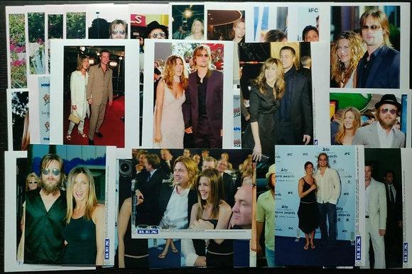 Brad Pitt & Jennifer Anniston Press Photos (x44) from 2000-2004