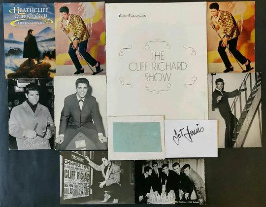 Cliff Richard & The Shadows Signed1964 UK Tour Programme With COA + Memorabilia