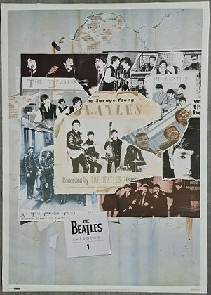 The Beatles 'Anthology 1' Poster - Splash - 1995