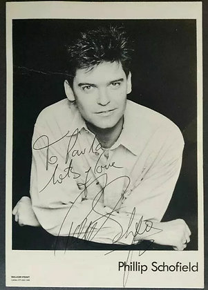 Phillip Schofield Signed Promo Photo - Walker Print