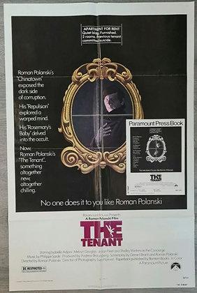 The Tenant (1976) US One Sheet Poster & Press Book - Roman Polanski - Paramount