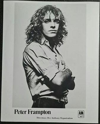 Peter Frampton Promo Photo - A&M Records