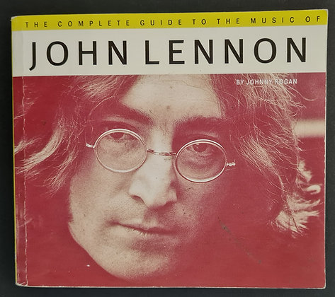 Hunter Davies Signed 'The Complete Guide To The Music Of John Lennon' PB Book