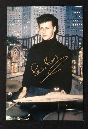 Pete Best Signed A4 Sized Colour Photo
