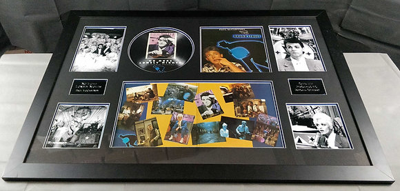 Paul McCartney Signed Framed Display