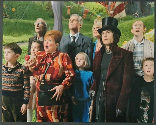 James Fox Signed Photo - Charlie And The Chocolate Factory