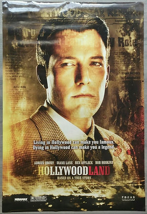 Hollywoodland (2006) Original US One Sheet Poster - Ben Affleck