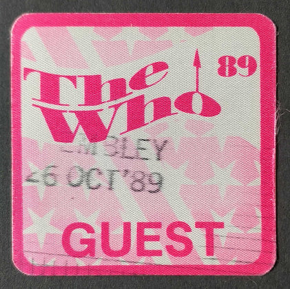 The Who Guest Pass 1989